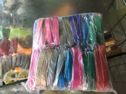 Pacote com 25 Saquinhos de fitinha colorida