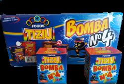 Display com 50 caixa de Bomba n 4
