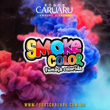 Fumaça Colorida Bastão 37mm caixa com 6 Unidade