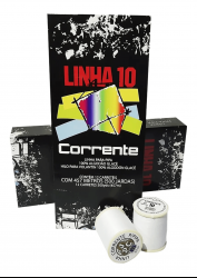 Linha Corrente 500 Jardas  c/12
