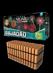 Torta Rajadão 65 tubos 44mm - fogos Caruaru