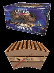 Torta Frenética Leque 120 Tubos de 20mm - fogos Caruaru